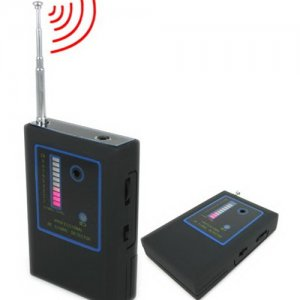 Portable Professional RF Signal Detector with Alarm Function